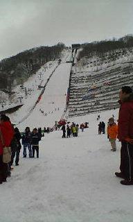 大倉山へジャンプ